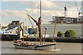 TQ3380 : Thames barge Will by Richard Croft
