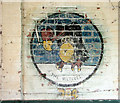 TM3185 : RAF Bungay (USAAF Station 125) - Aero Club mural (8) by Evelyn Simak