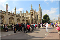 TL4458 : King's College Chapel, Cambridge by Kate Jewell