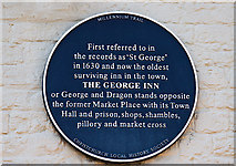 SZ1592 : The Blue Plaques of Christchurch: No. 7 by Mike Searle
