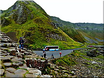 C9444 : County Antrim - Giant's Causeway - Ulster Bus Stop by Suzanne Mischyshyn