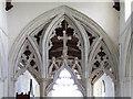 TL6624 : St Mary, Stebbing - Chancel screen by John Salmon