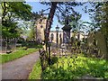 SK1582 : St Edmund's Church and Churchyard, Castleton by David Dixon