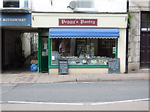 ST0207 : Cullompton: Peggy's Pantry by Martin Bodman