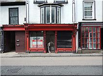 ST0207 : Cullompton: shop unit to let by Martin Bodman