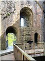 SK1482 : Peveril Castle Keep by David Dixon