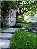 SK1482 : Peveril Castle Gateway by David Dixon