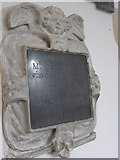 SU4774 : St Mary, Chieveley: memorial (c) by Basher Eyre