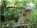 TM4367 : Pillbox near Reckford Bridge, Middleton by Adrian S Pye