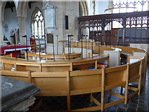 SP7006 : Inside St Mary Thame (IX) by Basher Eyre