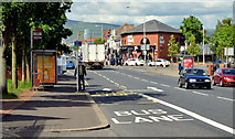 J3674 : Holywood Arches bus stop (EWAY), Belfast - May 2014(1) by Albert Bridge
