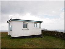 SH1325 : Former Coastguard Lookout, Mynydd Mawr by Chris Andrews