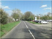 SP2225 : A436 north of Upper Oddington by Stuart Logan