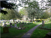 SP7006 : St Mary, Thame: churchyard (g) by Basher Eyre