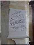 SP7006 : St Mary, Thame: memorial (24) by Basher Eyre