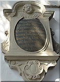 SP7006 : St Mary, Thame: memorial (26) by Basher Eyre
