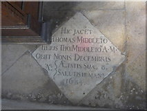 SP7006 : St Mary Thame: memorial (49) by Basher Eyre