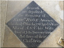 SP7006 : St Mary, Thame: memorial (55) by Basher Eyre