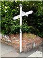 TM2373 : Roadsign on Church Street by Geographer
