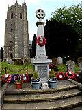 TM2373 : Stradbroke War Memorial by Adrian Cable