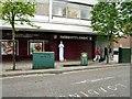 SJ9494 : White figure on Market Place by Gerald England