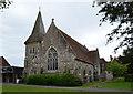 TQ5804 : St John's church, Polegate by Julian P Guffogg