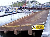 SX9163 : D-Day Loading Ramp : Torquay by Len Williams