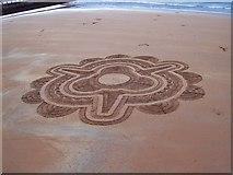 SX9063 : Sand Art : Torquay by Len Williams