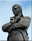 NS3321 : Robert Burns's Statue by Mary and Angus Hogg