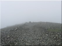 NM5233 : The summit ridge of Ben More, Mull by Paul Dexter