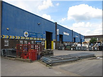 TQ2182 : Apex Industrial Estate, Hythe Road, London NW10 by David Hawgood