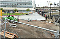 J3474 : Donegall Quay landscaping, Belfast (May 2014) by Albert Bridge