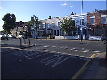 TQ2672 : Garratt Lane at the junction of Keble Street by David Howard