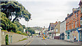 TR2035 : Sandgate: eastward on High Street towards Sandgate Hill by Ben Brooksbank