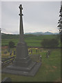 SD2886 : War memorial, St Luke's Church at Lowick by Karl and Ali