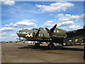 """TL4646 : Flying Fortress B-17 """"Sally B"""" by Chris Holifield"""
