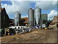 SP9319 : Farmyard, Horton Wharf Farm by Robin Webster
