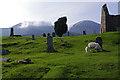 NG6120 : Graveyard at Cill Chriosd by Ian Taylor