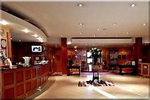 L9984 : County Mayo - Westport - New Road - Hotel Westport - Lobby by Suzanne Mischyshyn