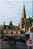 SP8699 : Uppingham Market Place by Mr Eugene Birchall