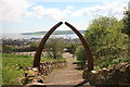 NO3931 : Archway on Dundee Law by Graham Hogg