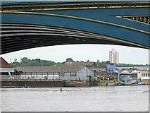 SK5838 : Under Trent Bridge by John Sutton