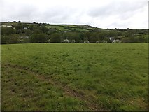 SX6196 : The Devonshire Heartland Way and the valley at Corscombe by David Smith