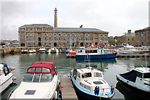 SX4653 : Royal William Yard dock by Kate Jewell