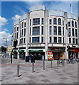 ST1876 : Lloyds Bank, 1 Queen Street, Cardiff by Jaggery