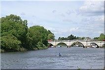 TQ1774 : Richmond Bridge by Christopher Hall