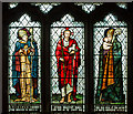 SK8091 : Stained glass window,St Paul's church, Morton by J.Hannan-Briggs