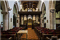 SK8791 : Interior, St Laurence church, Corringham by J.Hannan-Briggs