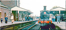 TQ4023 : Sheffield Park Station, 1975 by Ben Brooksbank