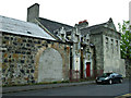 NS4964 : Former Whitehaugh Barracks by Thomas Nugent